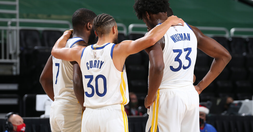 The Warriors' Championship Glow Is Gone. And Yet ...